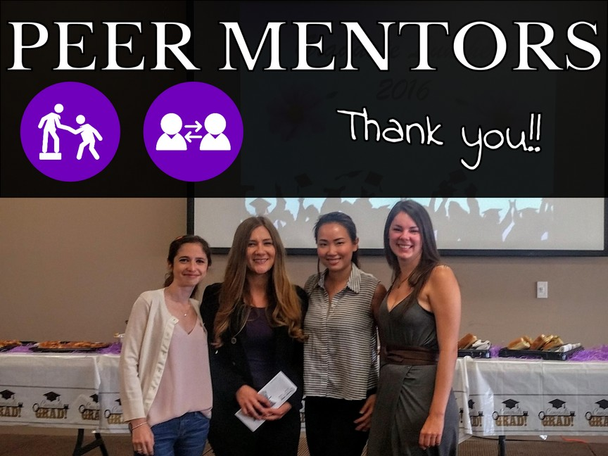 Toronto Dental College Peer Mentors 2016