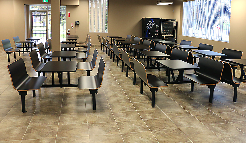 Toronto College of Dental Hygiene and Auxiliaries Inc. lunch area